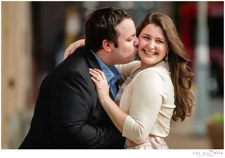 Engagement Photos in Downtown Pittsburgh