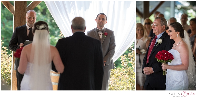 Wedding at quincy cellars