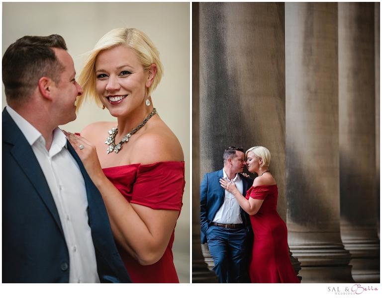 Engagement Photos at Mellon Institute