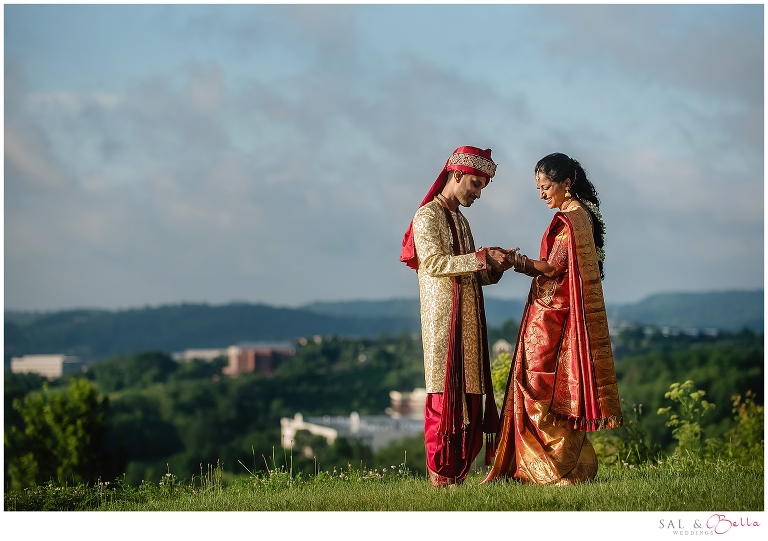 first look at Indian Wedding at Hilton Garden Inn Southpointe