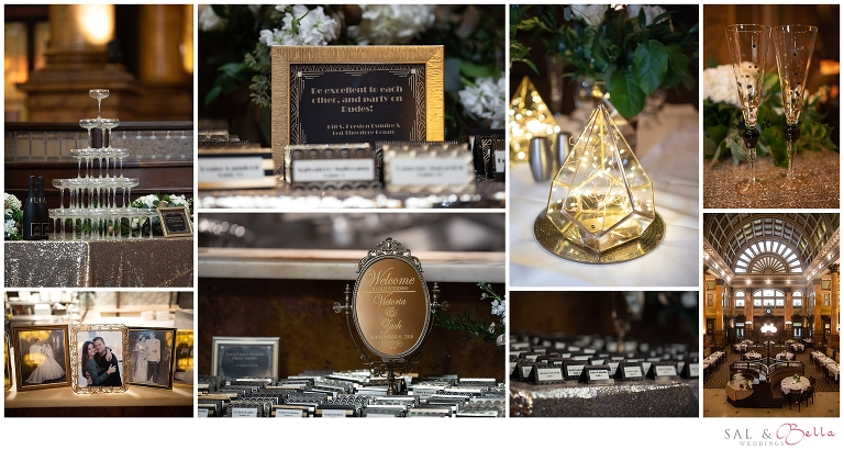Grand Concourse Wedding Victoria Zachary Weddings By Sal Bella